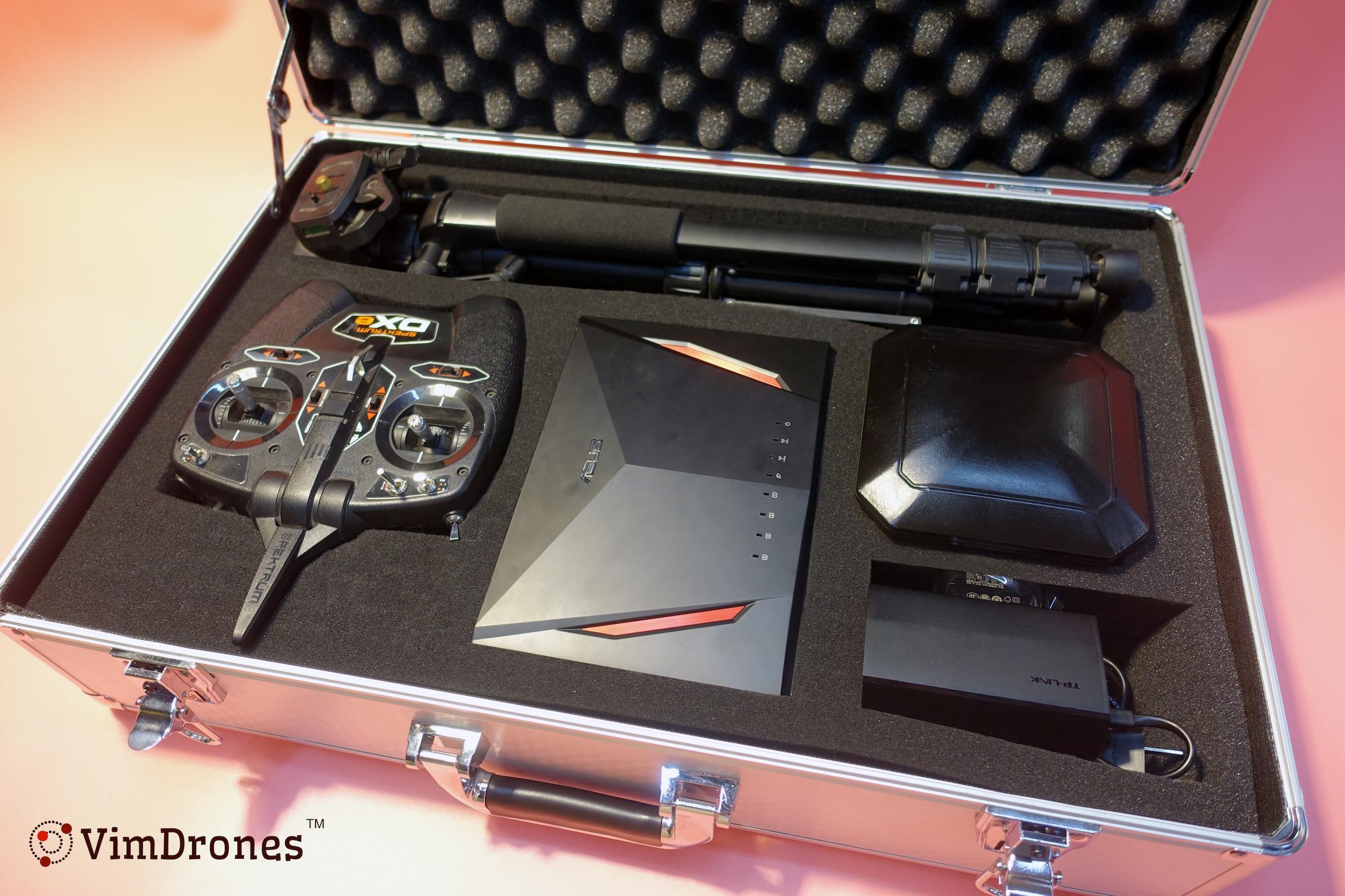 Vimdrones 无人机编队系统